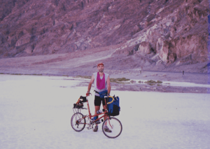 Cycling through Death Valley