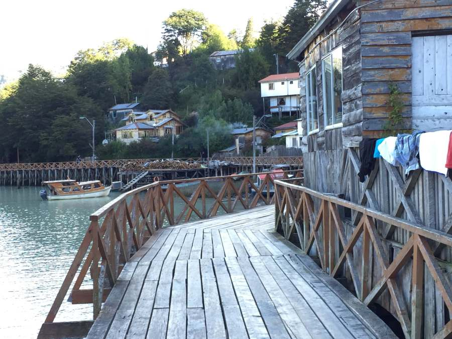 Tortel Chile and its boardwalk
