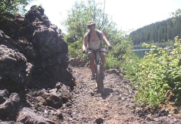 McKenzie River lava trail