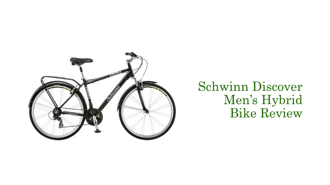 fbc39982765 Schwinn Discover Men's Hybrid Bike Review - Updated In 2019