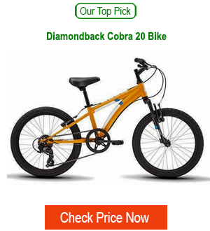 recommended kids mtb