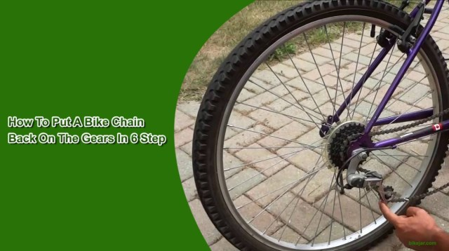 How To Put A Bike Chain Back On The Gears