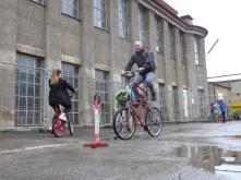 Tallbike fahren ist garnicht schwer