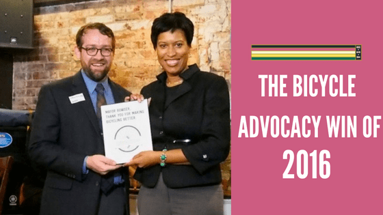 WABA Bicycle Advocacy Win of 2016