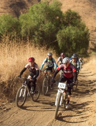CORBA Fat Tire Fest attendees on a group ride