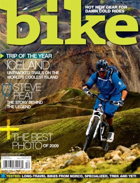 BIKE MAGAZINE DECEMBER 2009 ISSUE ON SALE NOW   BIKE Magazine