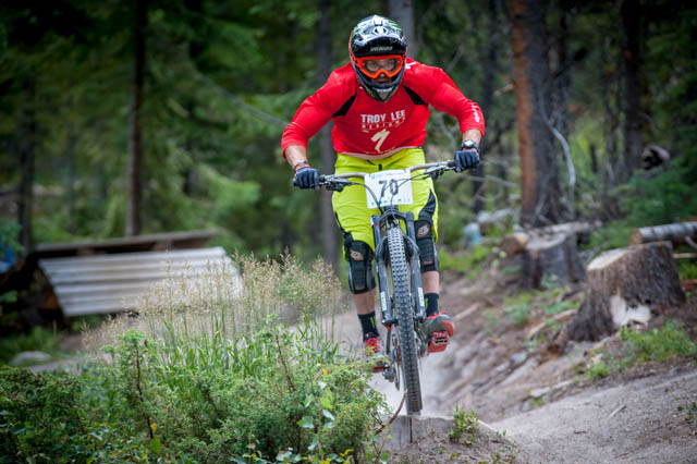 Mitch Ropelato rolling smoothly toward a 2nd place finish on the final stage and a 4th place overall.