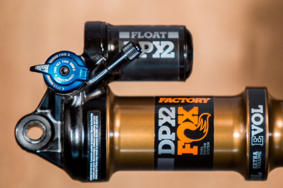 First Ride: Fox's New DPX2 Shock | BIKE Magazine