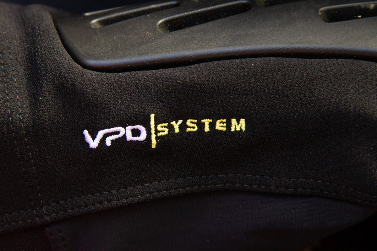 POC's VPD material, once warmed by body heat, is soft, pliable and very comfortable while pedaling.