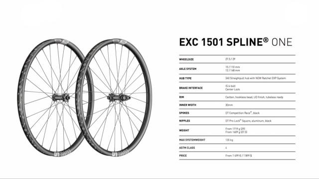 DT Swiss EXC 1501 specs