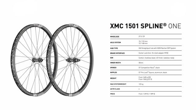DT Swiss XMC 1501 specs