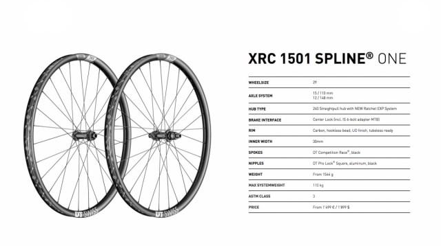 DT Swiss XRC 1501 specs