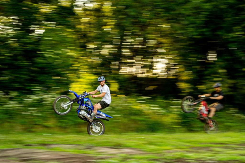 elliot heap pit bike