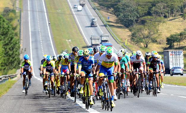 Percurso passou pelas rodovias Dutra, Ayrton Senna e Carvalho Pinto