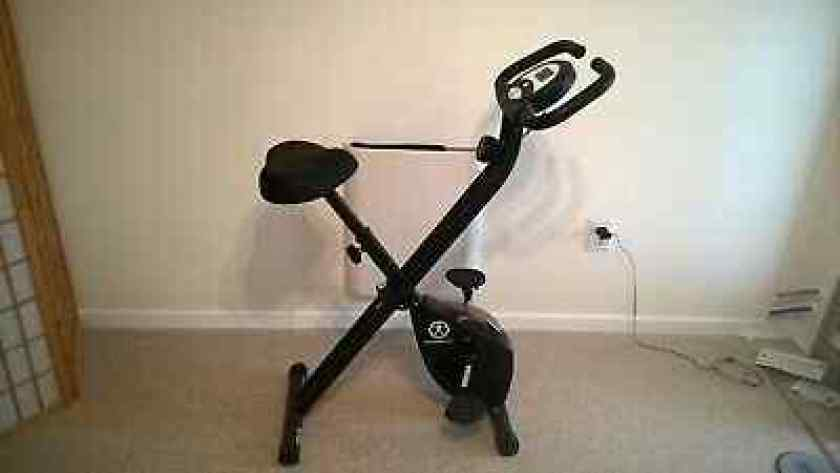Marcy NS-654 Foldable and Portable Exercise Bike