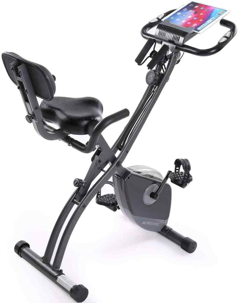 MaxKare Magnetic Upright Recumbent Cycling 3 in 1 Exercise Bike