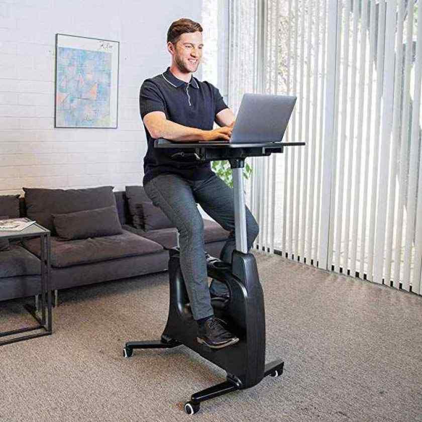 FLEXISPOT Home Office Standing Desk Exercise Bike