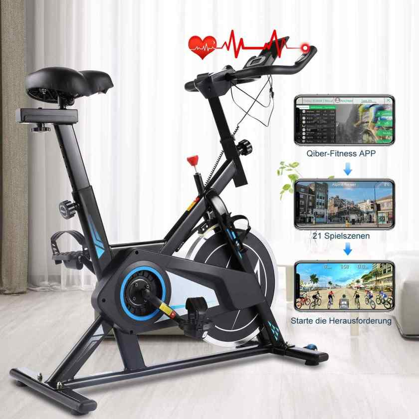Nameyio Indoor Professional Stationary Spin Bike