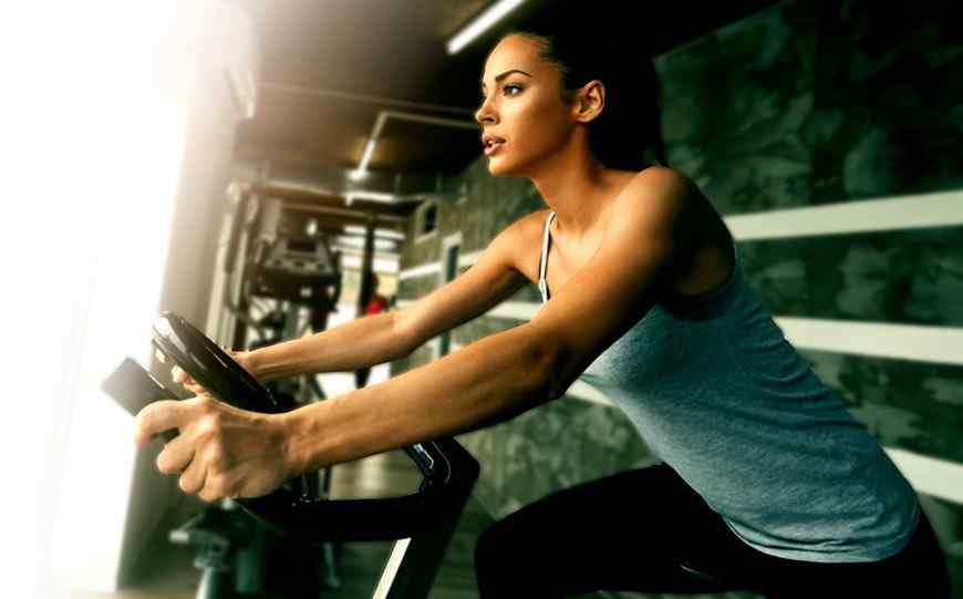 Stationary bike workout for beginners