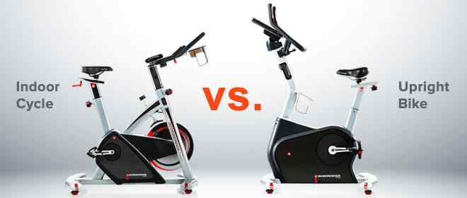 Indoor Cycle vs. Upright Bike