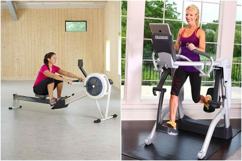 elliptical vs rowing machine