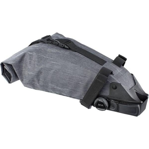 Evoc bikepacking zadeltas grijs 3L 1