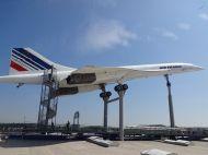 Die Concorde auf dem Dach