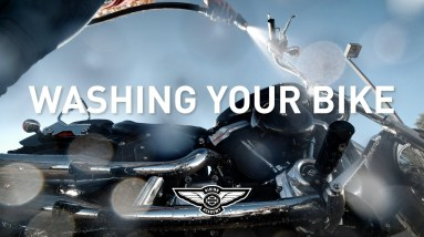 How-To: Washing Your Bike | Harley-Davidson Riding Academy