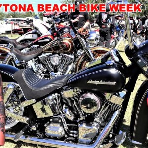 2021 Daytona Beach Bike Week, Harley-Davidson Custom Motorcycle Competition, Cabbage Patch & More!
