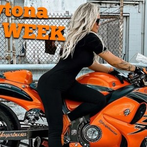 **Best Female Biker** 🧡🖤 DAYTONA BIKE WEEK 2021 🙋‍♀️ VLOG 🏍 LIGHTROSEGOLD HAYABUSA