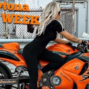 **Best Female Biker** 🧡🖤 DAYTONA BIKE WEEK 2021 🙋♀️ VLOG 🏍 LIGHTROSEGOLD HAYABUSA