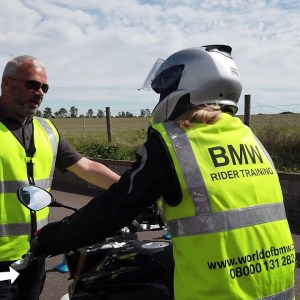 A beginners first experience at BMW Rider Training