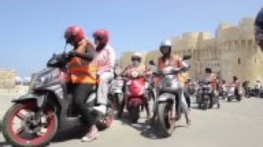 Female only scooter school teaches women to ride
