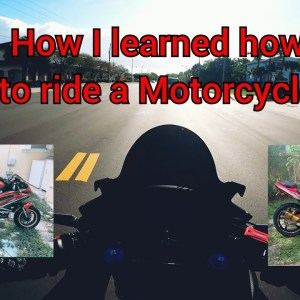 How I learned how to ride a motorcycle | Honda cbr500r 2020