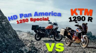 KTM 1290 R 2021 vs HARLEY DAVIDSON PAN AMERICA 1250