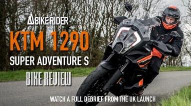 KTM 1290 Super Adventure S motorcycle review: UK bike launch debrief