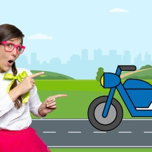 Learning About MOTORCYCLES With Missy | EDUCATIONAL VIDEOS FOR KIDS