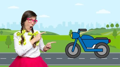 Learning About MOTORCYCLES With Missy   EDUCATIONAL VIDEOS FOR KIDS