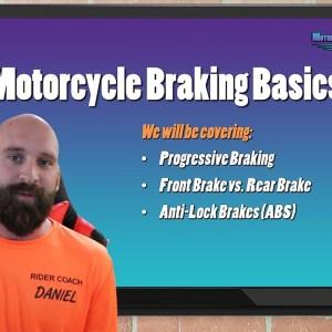 Motorcycle Braking Basics - Motorcycle Training Concepts