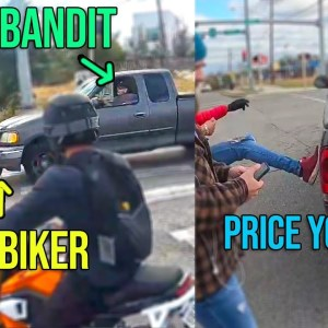 PRICE YOU PAY for Playing DIRTY TRICKS with BIKERS | epic biker moments