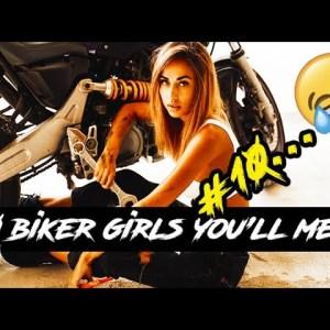 The 10 Biker Chicks You'll Meet | Motovlog