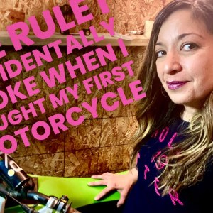 The Rule I Broke When I Bought My First Motorcycle