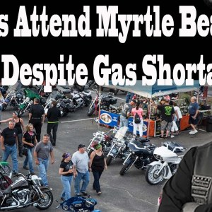 Bikers put their kickstands out for Spring Bike Rally in Myrtle Beach despite gas shortage