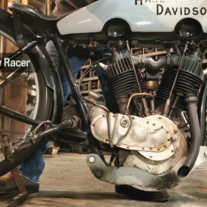 Motor Monday - 1924 HD Outlaw Racer