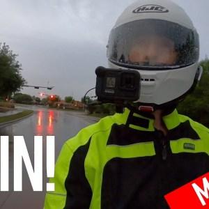 Riding In The Rain | Cruiseman's Moto Vlogs | CruisemansGarage.com