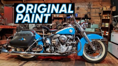 The 1957 Harley-Davidson Panhead