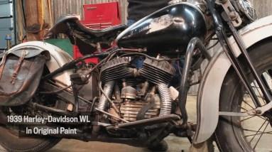 Motor Monday - 1939 Harley-Davidson WL