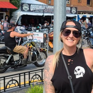 Live from Sturgis main street!