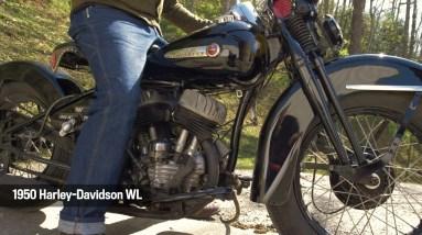 Motor Monday - 1950 Harley-Davidson WL