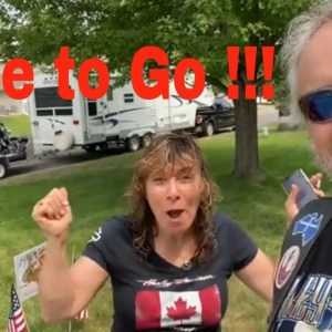 On the road to The Buffalo Chip, Sturgis 2021 - Time To Go